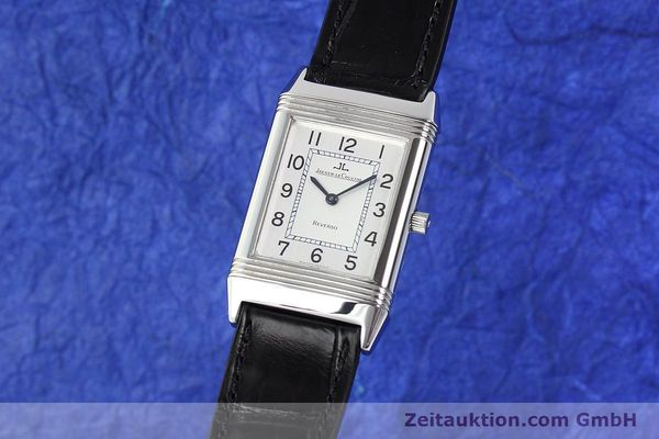 Used luxury watch Jaeger Le Coultre Reverso steel manual winding Kal. 846/1 Ref. 250.8.86  | 141463 04