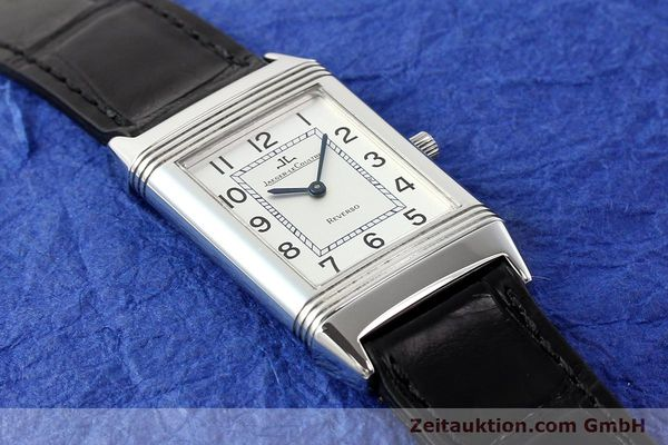 Used luxury watch Jaeger Le Coultre Reverso steel manual winding Kal. 846/1 Ref. 250.8.86  | 141463 12