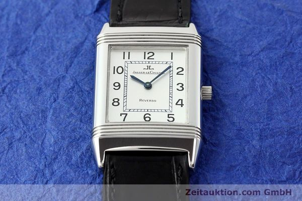 Used luxury watch Jaeger Le Coultre Reverso steel manual winding Kal. 846/1 Ref. 250.8.86  | 141463 13