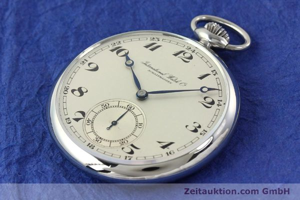 Used luxury watch IWC Taschenuhr steel manual winding Kal. C67  | 141465 01