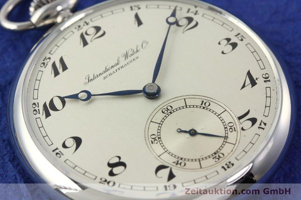 Used luxury watch IWC Taschenuhr steel manual winding Kal. C67  | 141465 02