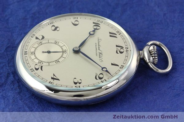 Used luxury watch IWC Taschenuhr steel manual winding Kal. C67  | 141465 03