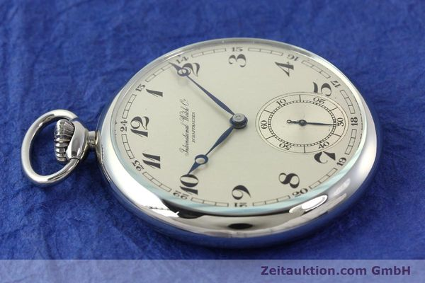 Used luxury watch IWC Taschenuhr steel manual winding Kal. C67  | 141465 05
