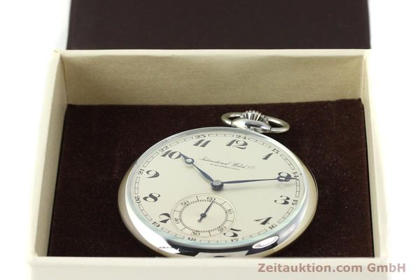 Used luxury watch IWC Taschenuhr steel manual winding Kal. C67  | 141465 07
