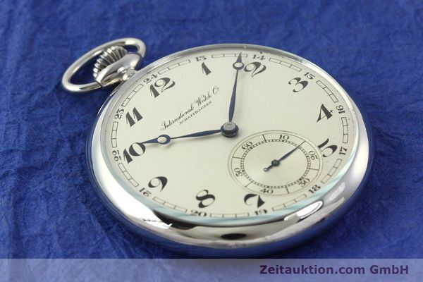 Used luxury watch IWC Taschenuhr steel manual winding Kal. C67  | 141465 11