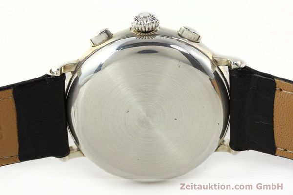 Used luxury watch Chronoswiss A. Rochat chronograph silver automatic Kal. VAL 7758  | 141466 09