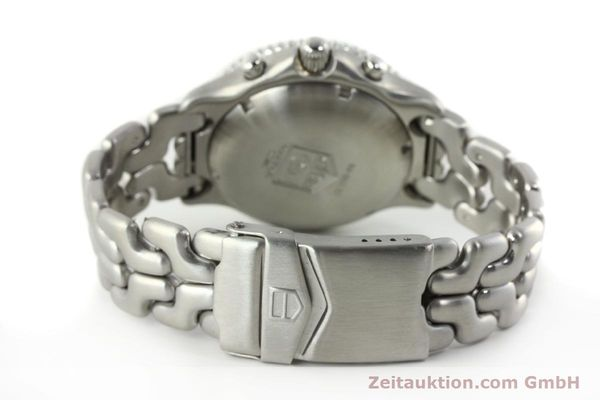 Used luxury watch Tag Heuer Link chronograph steel automatic Kal. 1.95 VAL 7750 Ref. CG2110-RO  | 141467 12