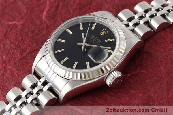 Used luxury watch Rolex Lady Date steel / gold automatic Kal. 2135 Ref. 69174  | 141469 01