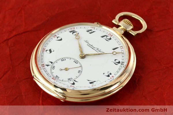 Used luxury watch IWC Taschenuhr 14 ct yellow gold manual winding Kal. H5  | 141470 01