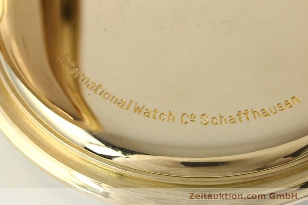Used luxury watch IWC Taschenuhr 14 ct yellow gold manual winding Kal. H5  | 141470 11