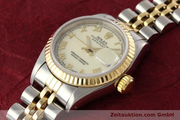 montre de luxe d occasion Rolex Lady Datejust acier / or  automatique Kal. 2135 Ref. 69173  | 141474 01