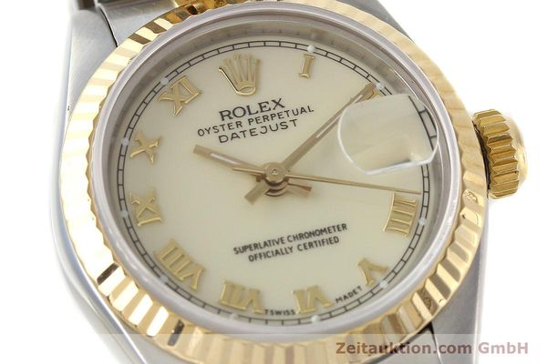 montre de luxe d occasion Rolex Lady Datejust acier / or  automatique Kal. 2135 Ref. 69173  | 141474 02