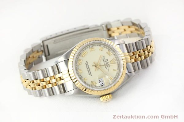 montre de luxe d occasion Rolex Lady Datejust acier / or  automatique Kal. 2135 Ref. 69173  | 141474 03