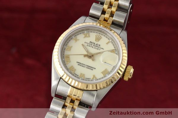 montre de luxe d occasion Rolex Lady Datejust acier / or  automatique Kal. 2135 Ref. 69173  | 141474 04