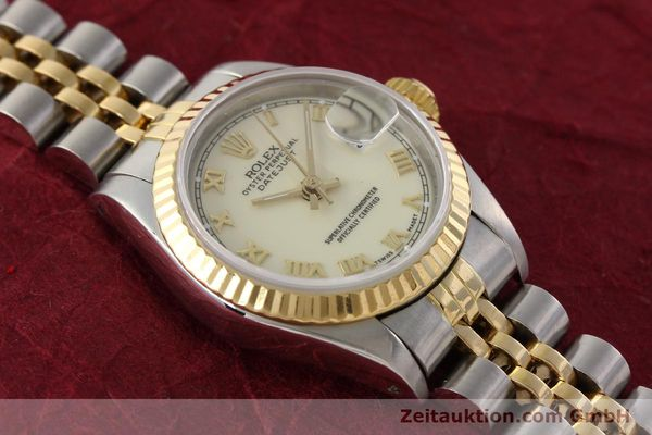montre de luxe d occasion Rolex Lady Datejust acier / or  automatique Kal. 2135 Ref. 69173  | 141474 15