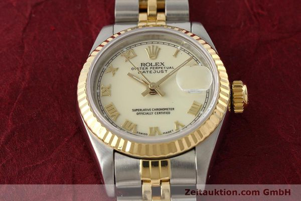 montre de luxe d occasion Rolex Lady Datejust acier / or  automatique Kal. 2135 Ref. 69173  | 141474 16