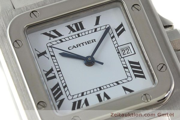 Used luxury watch Cartier Santos steel automatic Kal. ETA 2671  | 141475 02