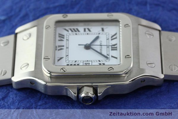 Used luxury watch Cartier Santos steel automatic Kal. ETA 2671  | 141475 05