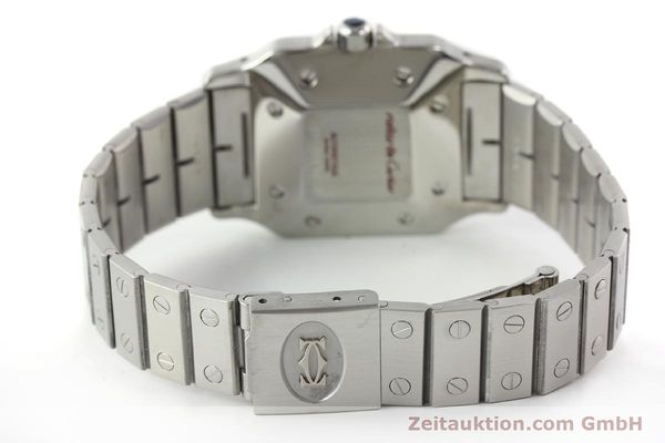 Used luxury watch Cartier Santos steel automatic Kal. ETA 2671  | 141475 10