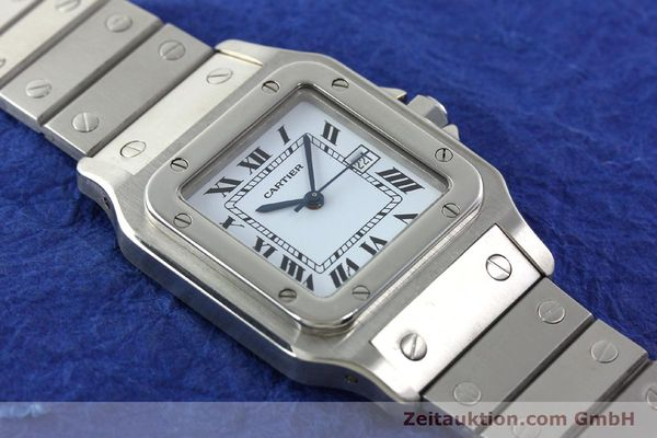 Used luxury watch Cartier Santos steel automatic Kal. ETA 2671  | 141475 13