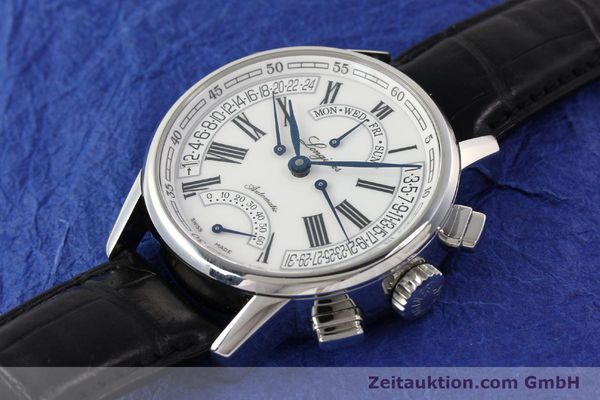 Used luxury watch Longines Heritage steel automatic Kal. L698.2  Ref. L4.797.4  | 141476 01