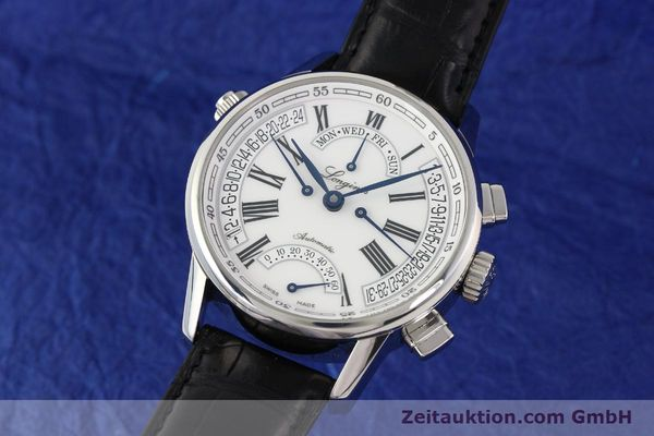 Used luxury watch Longines Heritage steel automatic Kal. L698.2  Ref. L4.797.4  | 141476 04