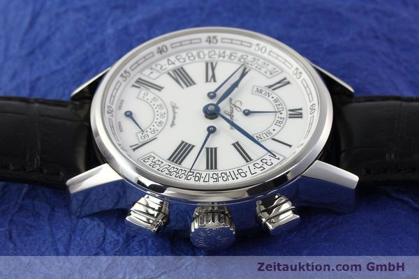 Used luxury watch Longines Heritage steel automatic Kal. L698.2  Ref. L4.797.4  | 141476 05