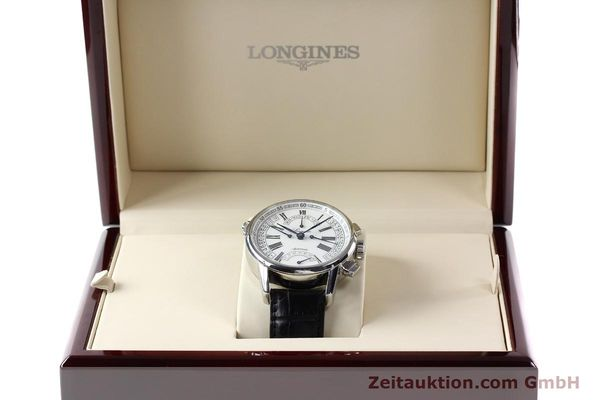 Used luxury watch Longines Heritage steel automatic Kal. L698.2  Ref. L4.797.4  | 141476 07