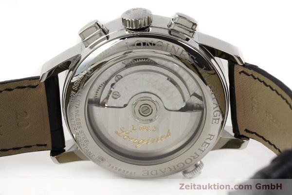 Used luxury watch Longines Heritage steel automatic Kal. L698.2  Ref. L4.797.4  | 141476 09
