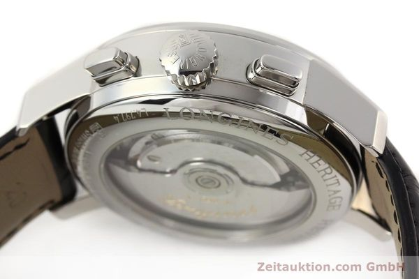 Used luxury watch Longines Heritage steel automatic Kal. L698.2  Ref. L4.797.4  | 141476 11
