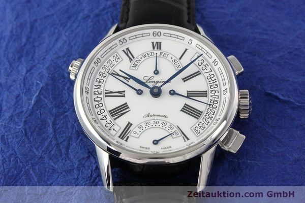 Used luxury watch Longines Heritage steel automatic Kal. L698.2  Ref. L4.797.4  | 141476 18