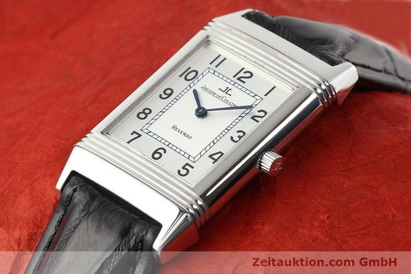 Used luxury watch Jaeger Le Coultre Reverso steel manual winding Ref. 250.8.86  | 141477 01