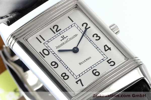 Used luxury watch Jaeger Le Coultre Reverso steel manual winding Ref. 250.8.86  | 141477 02