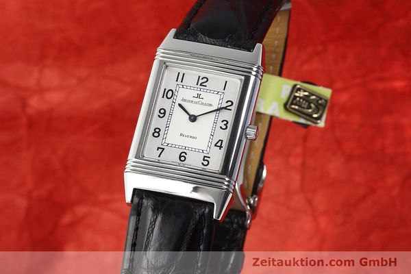 Used luxury watch Jaeger Le Coultre Reverso steel manual winding Ref. 250.8.86  | 141477 04