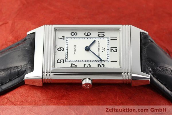Used luxury watch Jaeger Le Coultre Reverso steel manual winding Ref. 250.8.86  | 141477 05