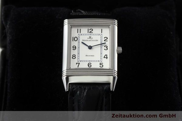 Used luxury watch Jaeger Le Coultre Reverso steel manual winding Ref. 250.8.86  | 141477 07
