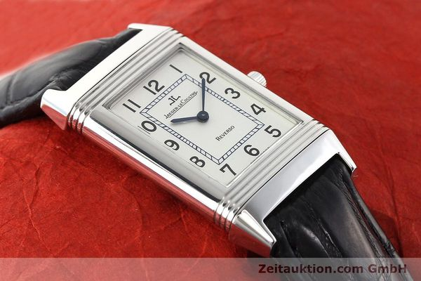 Used luxury watch Jaeger Le Coultre Reverso steel manual winding Ref. 250.8.86  | 141477 13