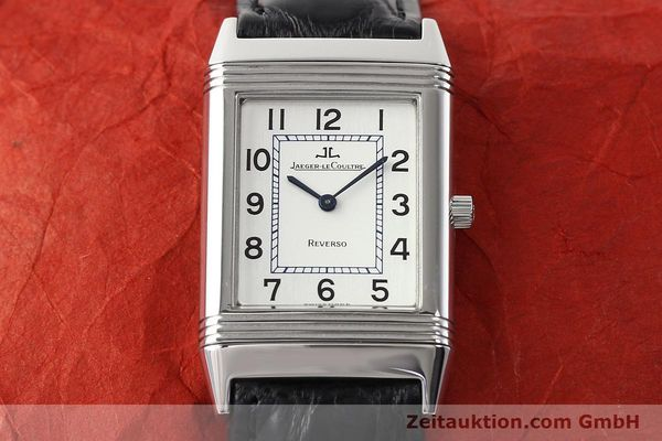 Used luxury watch Jaeger Le Coultre Reverso steel manual winding Ref. 250.8.86  | 141477 14