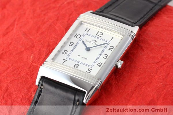 Used luxury watch Jaeger Le Coultre Reverso steel quartz Kal. 608  | 141478 01