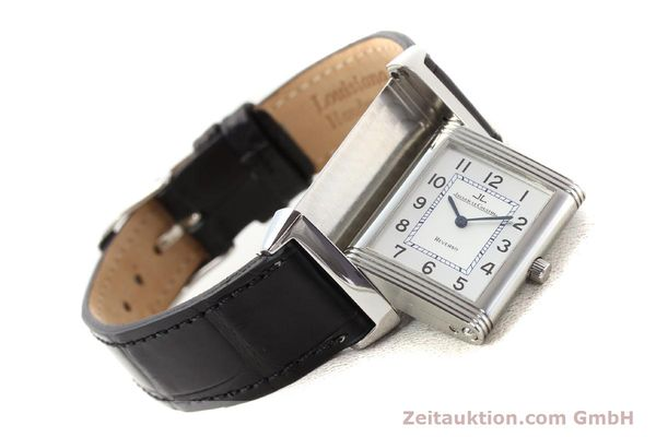 Used luxury watch Jaeger Le Coultre Reverso steel quartz Kal. 608  | 141478 03