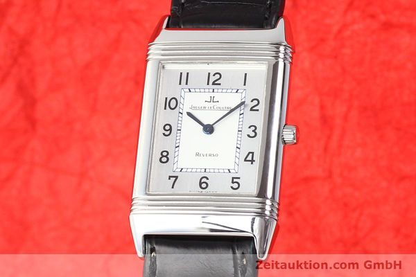 Used luxury watch Jaeger Le Coultre Reverso steel quartz Kal. 608  | 141478 04