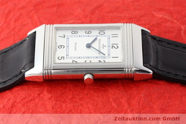 Used luxury watch Jaeger Le Coultre Reverso steel quartz Kal. 608  | 141478 05