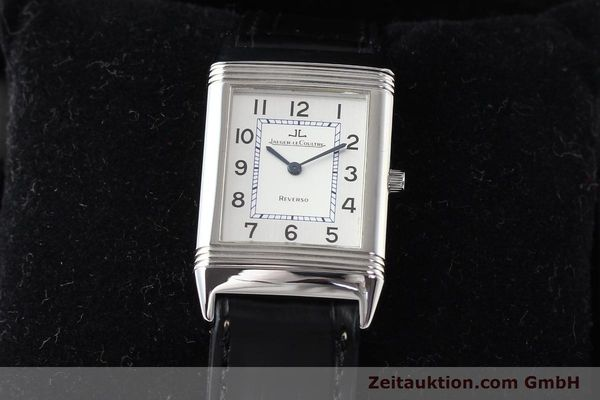 Used luxury watch Jaeger Le Coultre Reverso steel quartz Kal. 608  | 141478 07