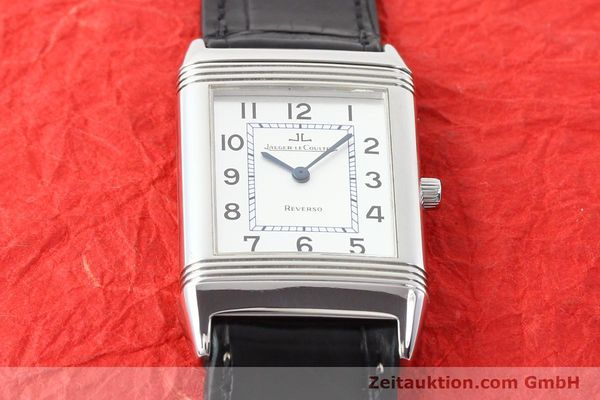 Used luxury watch Jaeger Le Coultre Reverso steel quartz Kal. 608  | 141478 12