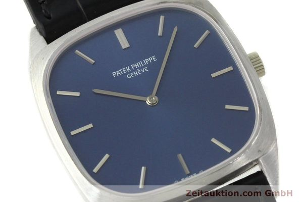 Used luxury watch Patek Philippe * 18 ct white gold manual winding Kal. 175 Ref. 3566  | 141479 02