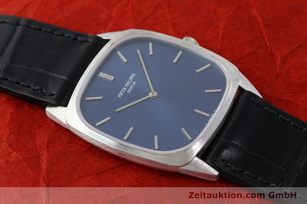 Used luxury watch Patek Philippe * 18 ct white gold manual winding Kal. 175 Ref. 3566  | 141479 16