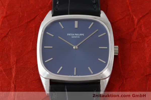 Used luxury watch Patek Philippe * 18 ct white gold manual winding Kal. 175 Ref. 3566  | 141479 17