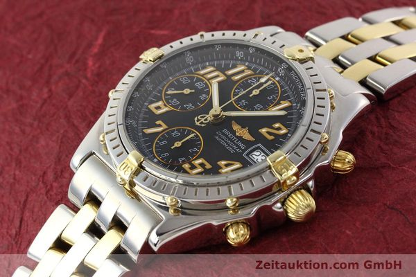 Used luxury watch Breitling Chronomat chronograph gilt steel automatic Kal. B13 B.1 ETA 7750 Ref. B13050.1  | 141480 01