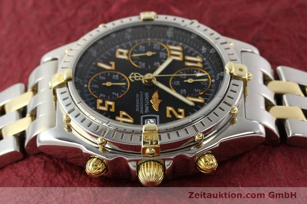 Used luxury watch Breitling Chronomat chronograph gilt steel automatic Kal. B13 B.1 ETA 7750 Ref. B13050.1  | 141480 05