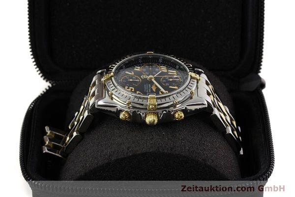 Used luxury watch Breitling Chronomat chronograph gilt steel automatic Kal. B13 B.1 ETA 7750 Ref. B13050.1  | 141480 07
